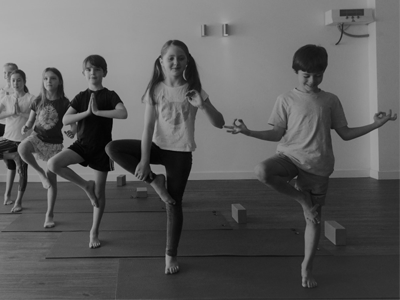 Young people and yoga